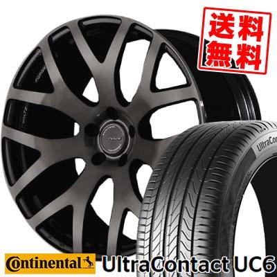 245/50R18 CONTINENTAL コンチネンタル UltraContact UC6 ウルトラコンタクト UC6 RAYS WALTZ FORGED S7 レイズ ヴァルツ フォージド S7 サマータイヤホイール4本セット