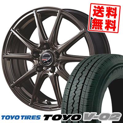 195/70R15 106 L TOYO TIRES トーヨー タイヤ V02 V02 FINALSPEED GR-Volt ファイナルスピード GRボルト サマータイヤホイール4本セット