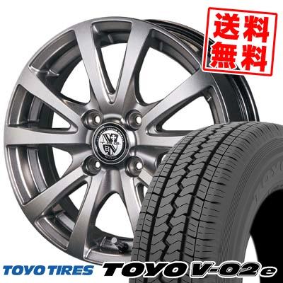 トーヨー ブイゼロツーイー TRG サマータイヤホイール4本セット 165/80R13 TIRES タイヤ バーン V02e TRG-BAHN TOYO