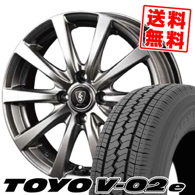 145/80R12 TOYO TIRES トーヨー タイヤ V02e ブイゼロツーイー Euro Speed G10 ユーロスピード G10 サマータイヤホイール4本セット