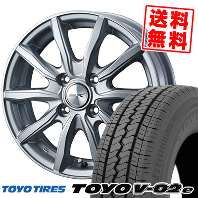 145/80R12 80/78N TOYO TIRES トーヨー タイヤ V02e ブイゼロツーイー JOKER SHAKE ジョーカー シェイク サマータイヤホイール4本セット