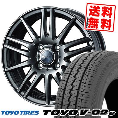 145/80R12 86/84N TOYO TIRES トーヨー タイヤ V02e ブイゼロツーイー Zamik Tito ザミック ティート サマータイヤホイール4本セット