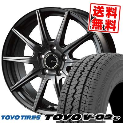 195/70R15 106/104L TOYO TIRES トーヨー タイヤ V02e ブイゼロツーイー V-EMOTION GS10 Vエモーション GS10 サマータイヤホイール4本セット【取付対象】