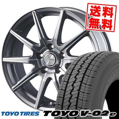 195/70R15 106/104L TOYO TIRES トーヨー タイヤ V02e ブイゼロツーイー V-EMOTION SR10 Vエモーション SR10 サマータイヤホイール4本セット【取付対象】