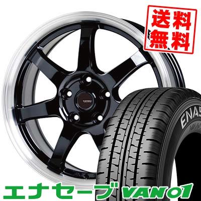 215/70R15 107/105L DUNLOP ダンロップ ENASAVE VAN01 エナセーブ VAN01 G.speed P-03 ジースピード P-03 サマータイヤホイール4本セット