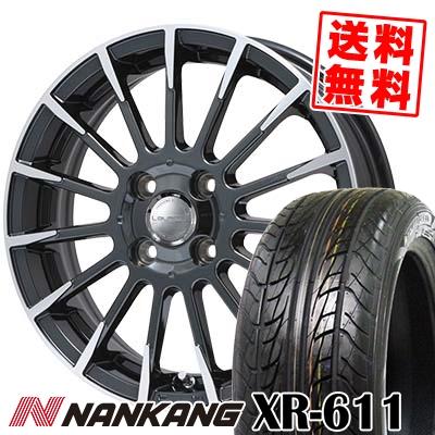 175/60R16 82H NANKANG ナンカン XR611 エックスアール ロクイチイチ Leyseen F-XV レイシーン FX-V サマータイヤホイール4本セット