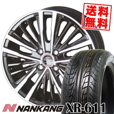 175/60R16 82H NANKANG ナンカン XR611 エックスアール ロクイチイチ SHALLEN XR-75 MONOBLOCK シャレン XR75 モノブロック サマータイヤホイール4本セット