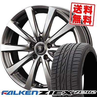 235/60R16 100W FALKEN ファルケン ZIEX ZE912 ジークス ZE912 Euro Speed G10 ユーロスピード G10 サマータイヤホイール4本セット
