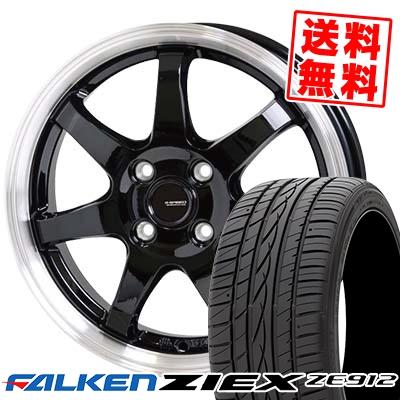 195/45R15 78W FALKEN ファルケン ZIEX ZE912 ジークス ZE912 G.speed P-03 ジースピード P-03 サマータイヤホイール4本セット