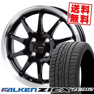 185/65R14 86H FALKEN ファルケン ZIEX ZE912 ジークス ZE912 G.speed P-04 ジースピード P-04 サマータイヤホイール4本セット
