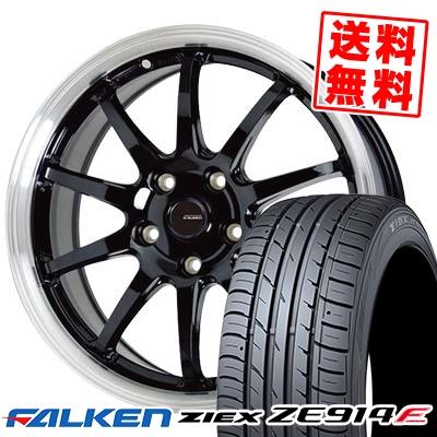 245/45R17 95W FALKEN ファルケン ZIEX ZE914F ジークス ZE914F G.speed P-04 ジースピード P-04 サマータイヤホイール4本セット