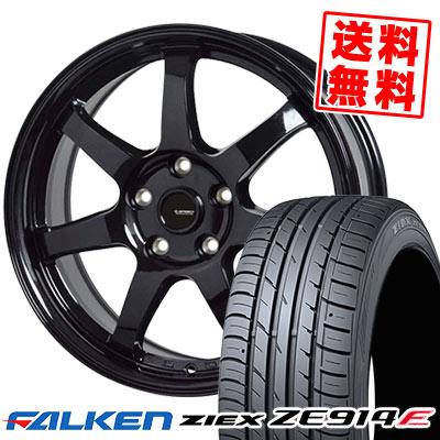 235/50R18 101W XL FALKEN ファルケン ZIEX ZE914F ジークス ZE914F G.speed G-03 Gスピード G-03 サマータイヤホイール4本セット