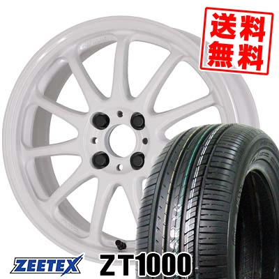 195/45R16 84V XL ZEETEX ジーテックス ZT1000 ZT1000 WORK EMOTION 11R ワーク エモーション 11R サマータイヤホイール4本セット