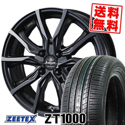 195/45R16 84V XL ZEETEX ジーテックス ZT1000 ZT1000 weds Krenze VERAE 731EVO ウエッズ クレンツェ ヴェラーエ 713EVO サマータイヤホイール4本セット