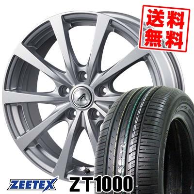 215/65R15 100V XL ZEETEX ジーテックス ZT1000 ZT1000 AZ SPORTS EX10 AZスポーツ EX10 サマータイヤホイール4本セット