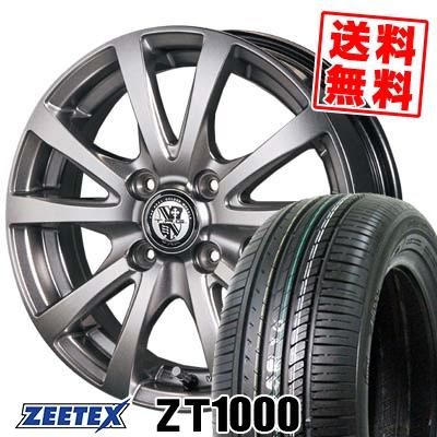 165/55R14 72V ZEETEX ジーテックス ZT1000 ZT1000 TRG-BAHN TRG バーン サマータイヤホイール4本セット