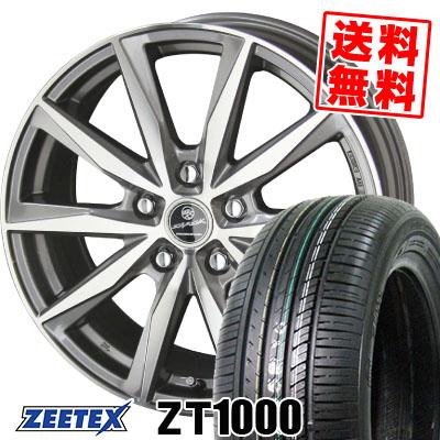 205/65R15 94H ZEETEX ジーテックス ZT1000 ZT1000 SMACK BASALT スマック バサルト サマータイヤホイール4本セット