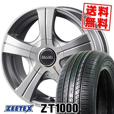 185/70R14 88H ZEETEX ジーテックス ZT1000 ZT1000 ZEABEC BT-5 ジーベック BT-5 サマータイヤホイール4本セット