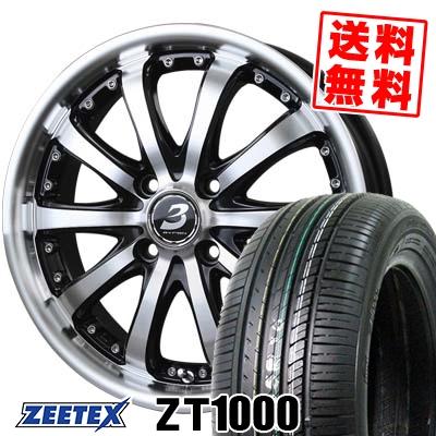 185/55R15 82V ZEETEX ジーテックス ZT1000 ZT1000 BADX LOXARNY EX BYRON STINGER バドックス ロクサーニ EX バイロンスティンガー サマータイヤホイール4本セット