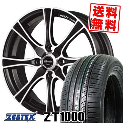 195/55R15 85V ZEETEX ジーテックス ZT1000 ZT1000 Warwic Carozza ワーウィック カロッツァ サマータイヤホイール4本セット【取付対象】