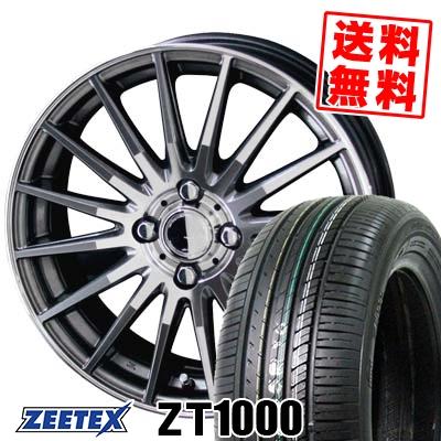 165/55R14 72V ZEETEX ジーテックス ZT1000 ZT1000 CIRCLAR VERSION DF サーキュラー バージョン DF サマータイヤホイール4本セット