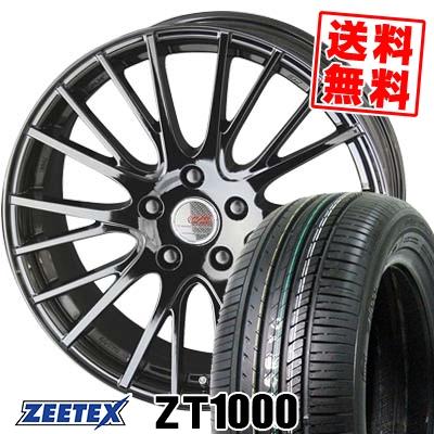 195/65R15 91V ZEETEX ジーテックス ZT1000 ZT1000 ENKEI CREATIVE DIRECTION CDS1 エンケイ クリエイティブ ディレクション CD-S1 サマータイヤホイール4本セット