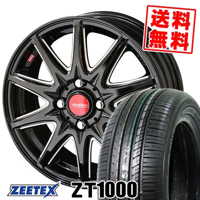 195/55R15 85V ZEETEX ジーテックス ZT1000 ZT1000 RIVAZZA CORSE リヴァッツァ コルセ サマータイヤホイール4本セット