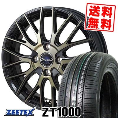165/55R15 75V ZEETEX ジーテックス ZT1000 ZT1000 Warwic Empress Mesh ワーウィック エンプレスメッシュ サマータイヤホイール4本セット【取付対象】