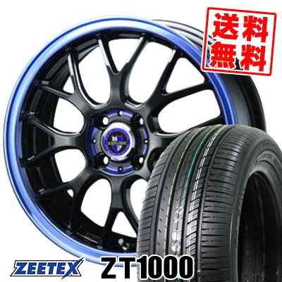 165/50R16 75V ZEETEX ジーテックス ZT1000 ZT1000 EXPLODE-RBM エクスプラウド RBM サマータイヤホイール4本セット