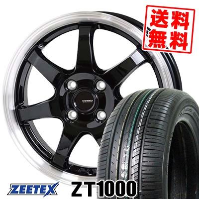 195/55R15 85V ZEETEX ジーテックス ZT1000 ZT1000 G.speed P-03 ジースピード P-03 サマータイヤホイール4本セット
