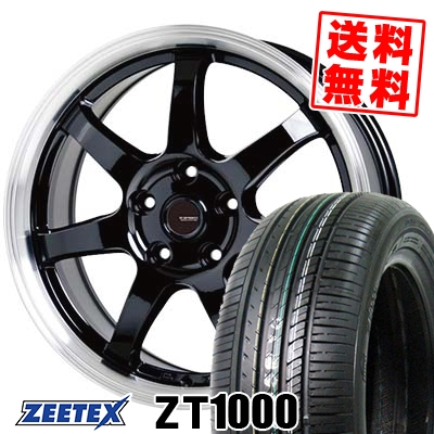 195/65R15 91V ZEETEX ジーテックス ZT1000 ZT1000 G.speed P-03 ジースピード P-03 サマータイヤホイール4本セット