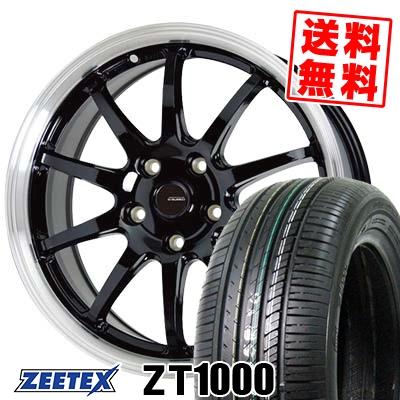 215/65R15 100V XL ZEETEX ジーテックス ZT1000 ZT1000 G.speed P-04 ジースピード P-04 サマータイヤホイール4本セット