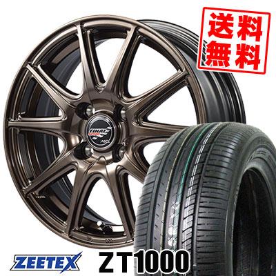 195/55R15 85V ZEETEX ジーテックス ZT1000 ZT1000 FINALSPEED GR-Volt ファイナルスピード GRボルト サマータイヤホイール4本セット