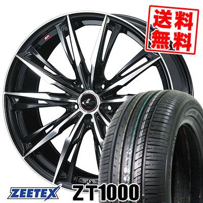 205/65R15 94H ZEETEX ジーテックス ZT1000 ZT1000 WEDS LEONIS GX ウェッズ レオニス GX サマータイヤホイール4本セット