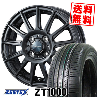 195/45R16 84V XL ZEETEX ジーテックス ZT1000 ZT1000 VELVA IGOR ヴェルヴァ イゴール サマータイヤホイール4本セット