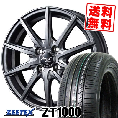 185/65R15 88H ZEETEX ジーテックス ZT1000 ZT1000 EuroStream JL10 ユーロストリーム JL10 サマータイヤホイール4本セット