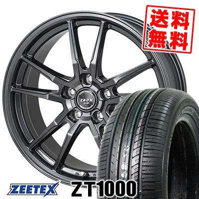 215/65R15 100V XL ZEETEX ジーテックス ZT1000 ZT1000 ZACK JP-520 ザック ジェイピー520 サマータイヤホイール4本セット
