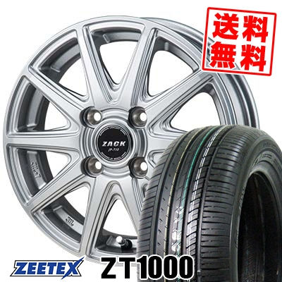 165/55R14 72V ZEETEX ジーテックス ZT1000 ZT1000 ZACK JP-710 ザック ジェイピー710 サマータイヤホイール4本セット