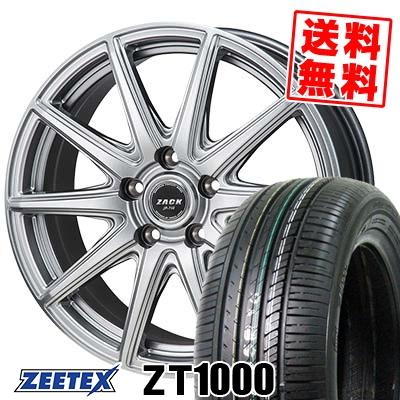 215/65R15 100V XL ZEETEX ジーテックス ZT1000 ZT1000 ZACK JP-710 ザック ジェイピー710 サマータイヤホイール4本セット