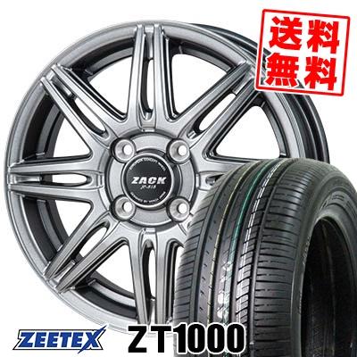 185/70R14 88H ZEETEX ジーテックス ZT1000 ZT1000 ZACK JP-818 ザック ジェイピー818 サマータイヤホイール4本セット【取付対象】