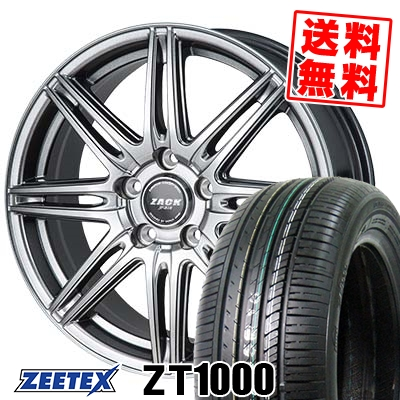 215/65R15 100V XL ZEETEX ジーテックス ZT1000 ZT1000 ZACK JP-818 ザック ジェイピー818 サマータイヤホイール4本セット