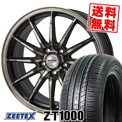 195/65R15 91V ZEETEX ジーテックス ZT1000 ZT1000 JP STYLE Vercely JPスタイル バークレー サマータイヤホイール4本セット