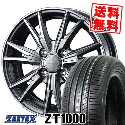 165/55R14 72V ZEETEX ジーテックス ZT1000 ZT1000 VELVA KEVIN ヴェルヴァ ケヴィン サマータイヤホイール4本セット