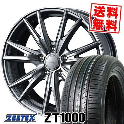 205/55R16 91V ZEETEX ジーテックス ZT1000 ZT1000 VELVA KEVIN ヴェルヴァ ケヴィン サマータイヤホイール4本セット