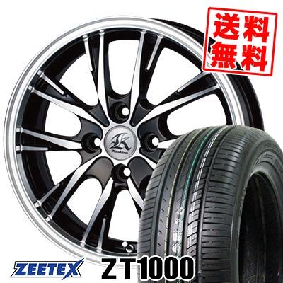 165/55R15 75V ZEETEX ジーテックス ZT1000 ZT1000 Kashina XV5 カシーナ XV5 サマータイヤホイール4本セット