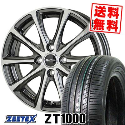 195/55R15 85V ZEETEX ジーテックス ZT1000 ZT1000 Laffite LE-04 ラフィット LE-04 サマータイヤホイール4本セット