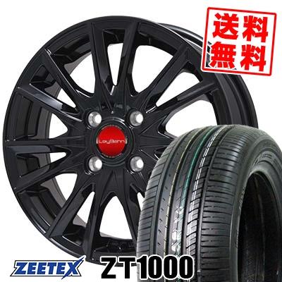 195/55R15 85V ZEETEX ジーテックス ZT1000 ZT1000 LeyBahn GBX レイバーン GBX サマータイヤホイール4本セット