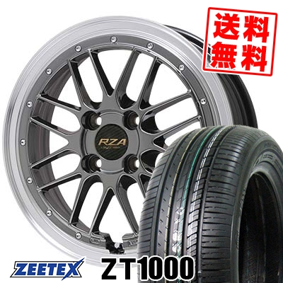 195/45R16 84V XL ZEETEX ジーテックス ZT1000 ZT1000 Leycross REZERVA レイクロス レゼルヴァ サマータイヤホイール4本セット