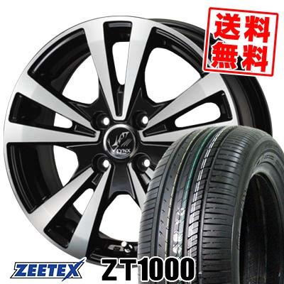 195/55R15 85V ZEETEX ジーテックス ZT1000 ZT1000 PRAUZER LYNX プラウザー リンクス サマータイヤホイール4本セット【取付対象】