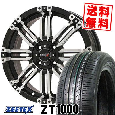 165/55R15 75V ZEETEX ジーテックス ZT1000 ZT1000 B-MUD X Bマッド エックス サマータイヤホイール4本セット